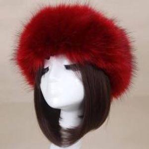 Brand New!!! Sexy Thick Winter Faux Fur HeadBand F